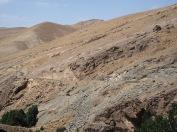 Blick vom Klettergebiet